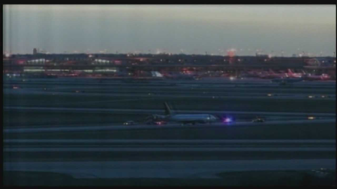 Agents with the Federal Bureau of Investigation are probing a bomb threat on board a Delta flight from Los Angeles International Airport to Orlando International Airport.