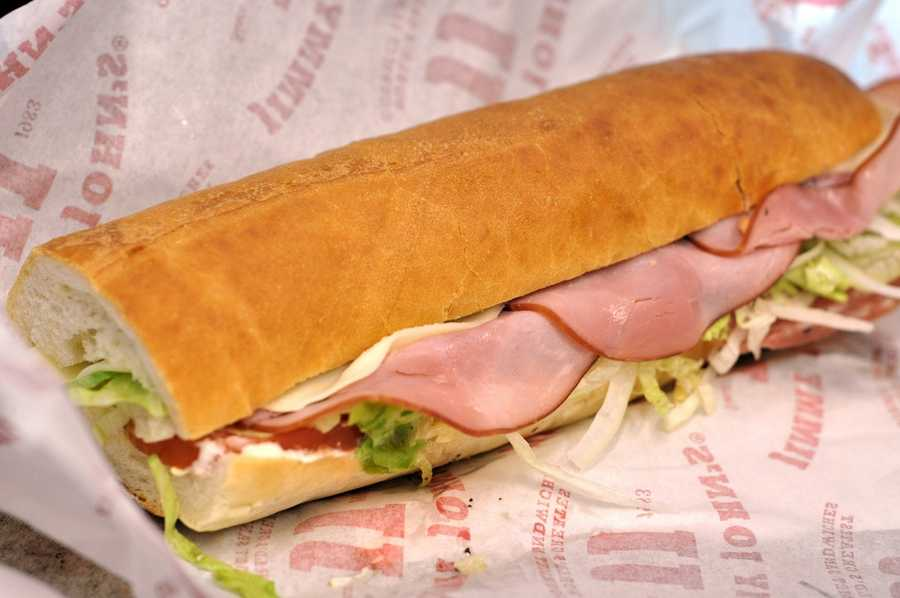 10. Jimmy John's Find out which location is closest to you.