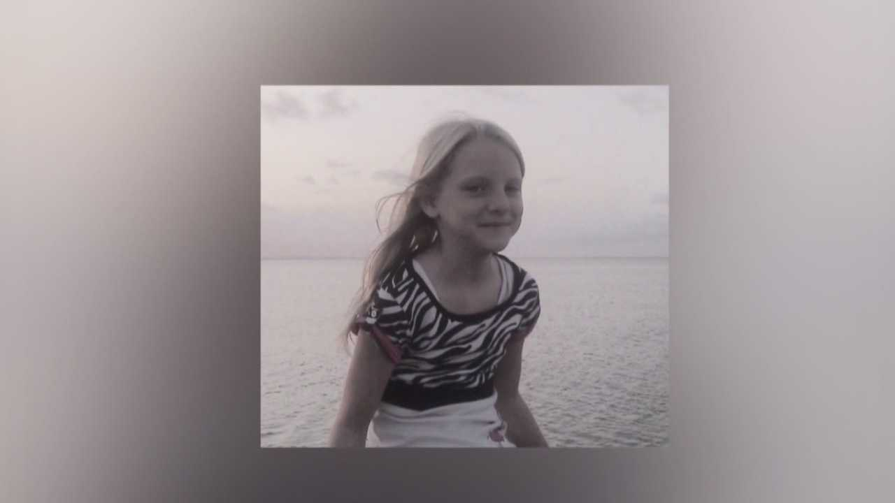 Aubrey Clark, 10, has been unconscious since she was struck by a car a week ago Tuesday.