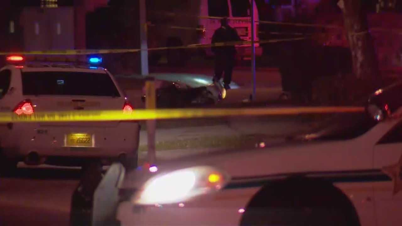 Deputies thought they were responding to a possible hit-and-run crash in Orange County on Friday morning until shell casings were found near the victim's body.