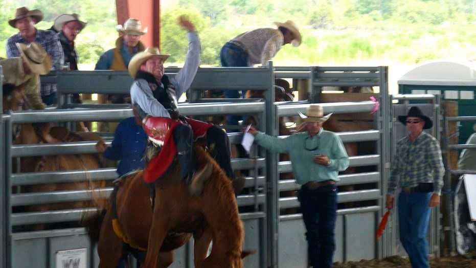 Photo of the Silver Spurs Rodeo in Florida by Rusty Clark.