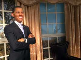 5. President Barack Obama - The 44th and current President of the United States of America