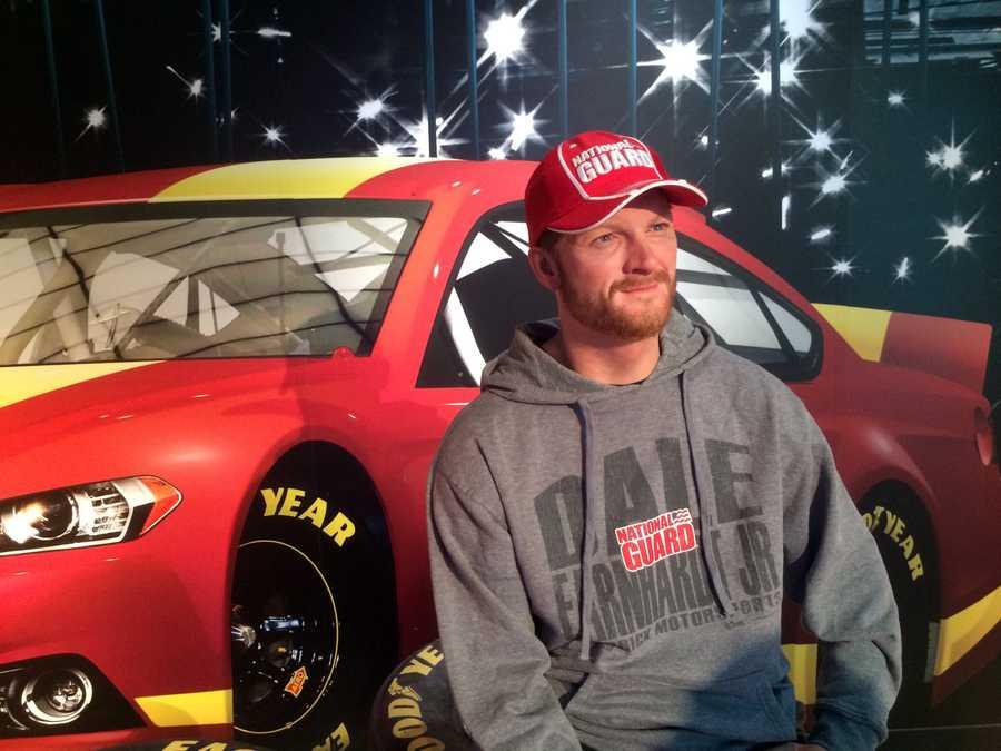 9. Dale Earnhardt Jr.- NASCAR driver