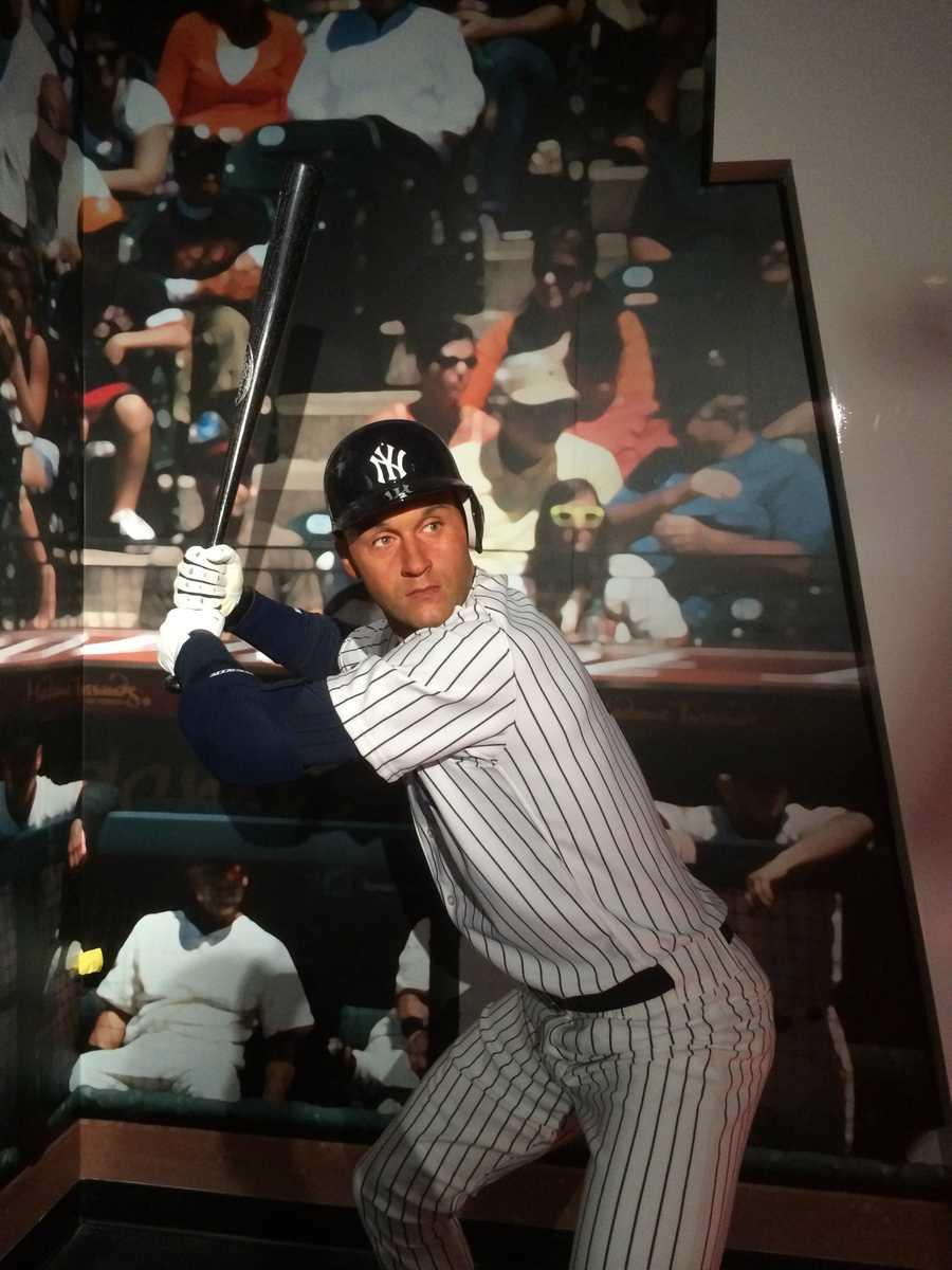11. Derek Jeter -Former professional baseball player