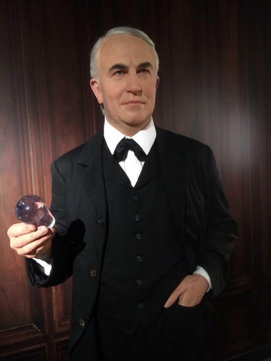 12. Thomas Edison - American inventor