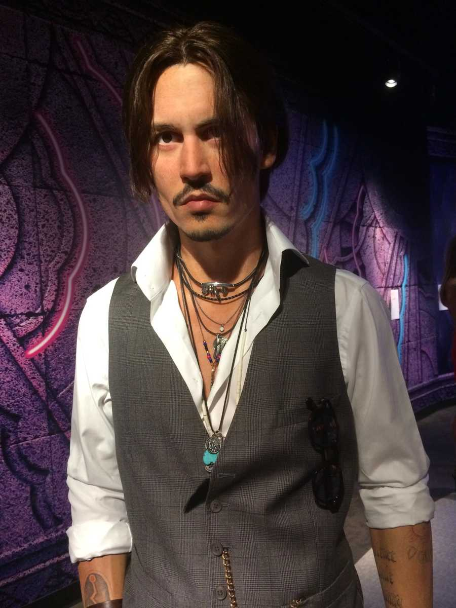 20. Johnny Depp -Actor