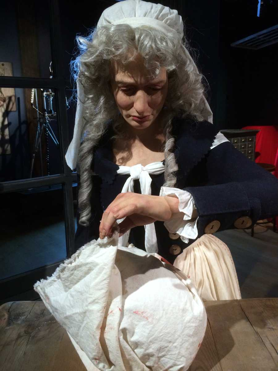 46. Madame Tussauds - French-born artist who became known for her wax sculptures.