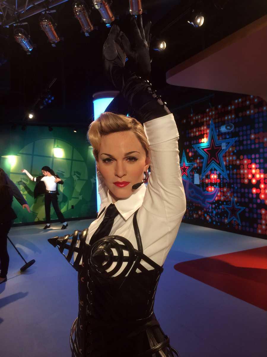 23.Madonna - Singer