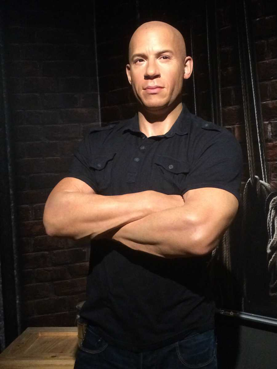 "43. Vin Diesel - Actor, most known for playing Dom in the ""Fast and Furious"" series"