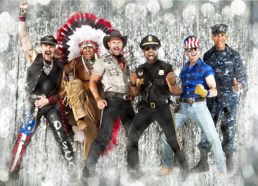 "5. Village People (""Y.M.C.A."") - April 10-12"