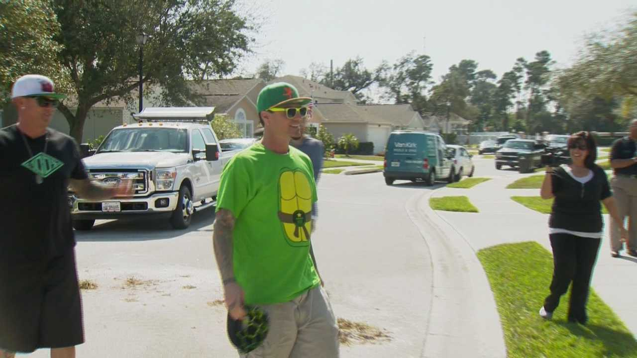 A Palm Bay family devastated by a car crash is making a comeback with the help of a swimming pool and controversial rap star Vanilla Ice.