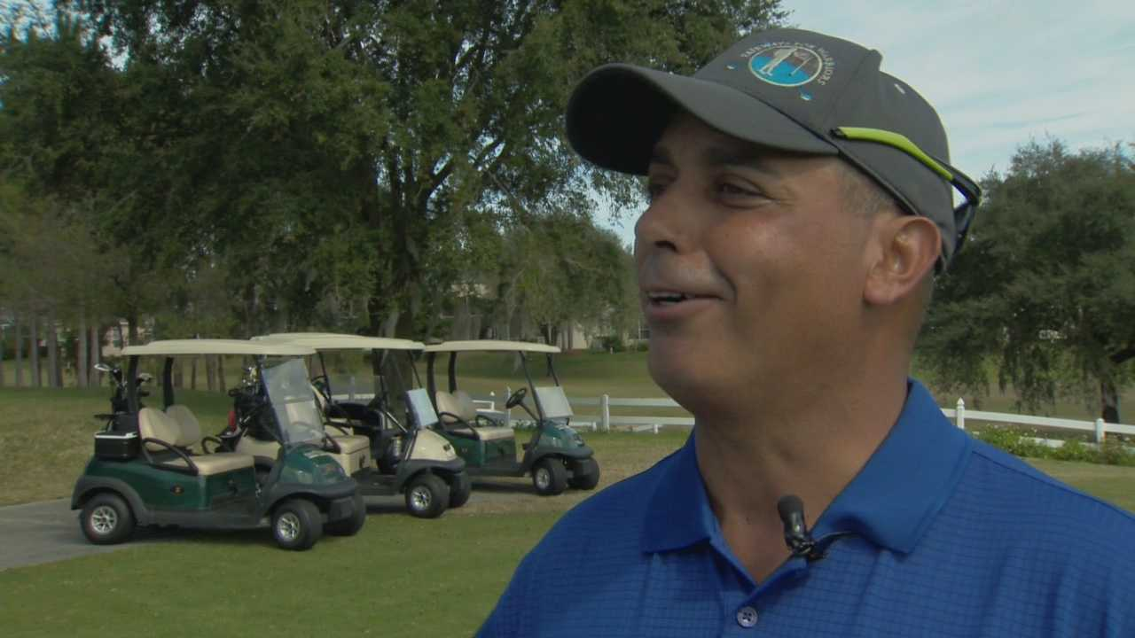 Brothers at arms returning to Central Florida wounded and scarred. But a new golf program is helping them take a swing at salvation.