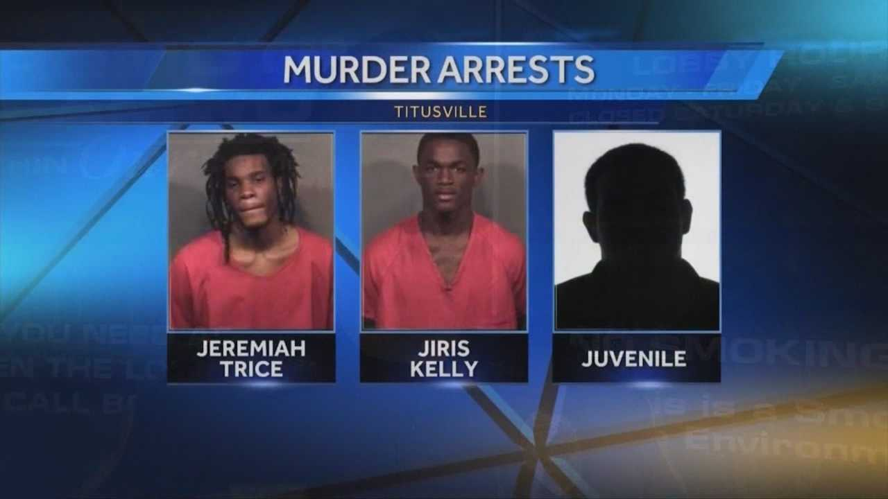 Three teenagers are accused in the deadly shooting a 24-year-old Titusville man over $40, according to police.