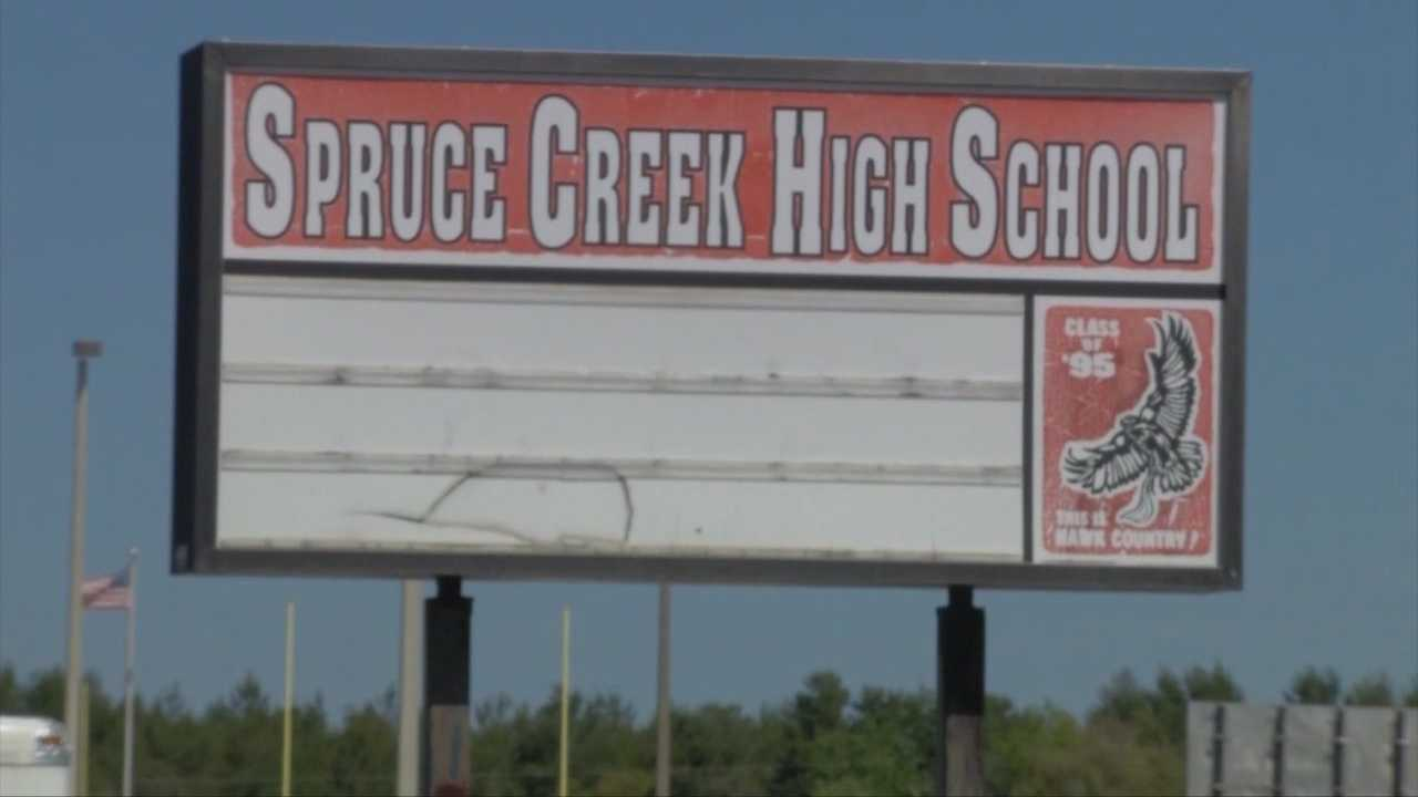 Paramedics rushed to Spruce Creek High School Monday after at least four students suddenly became sick, according to the Volusia County Sheriff's Office.