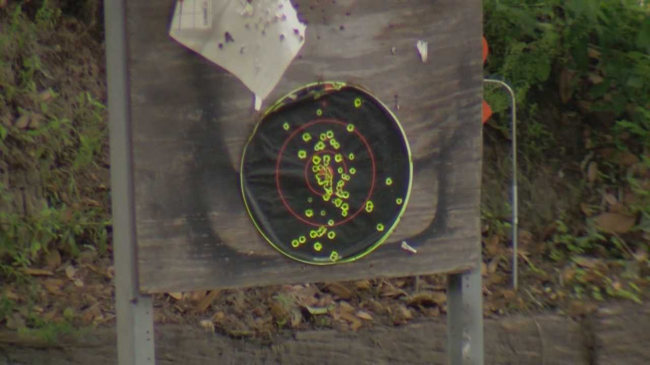 Fruitland Park City Commissioners will try to determine if it is safe for home owners to build gun ranges in their backyards. Greg Fox (@GregFoxWESH) has the story.