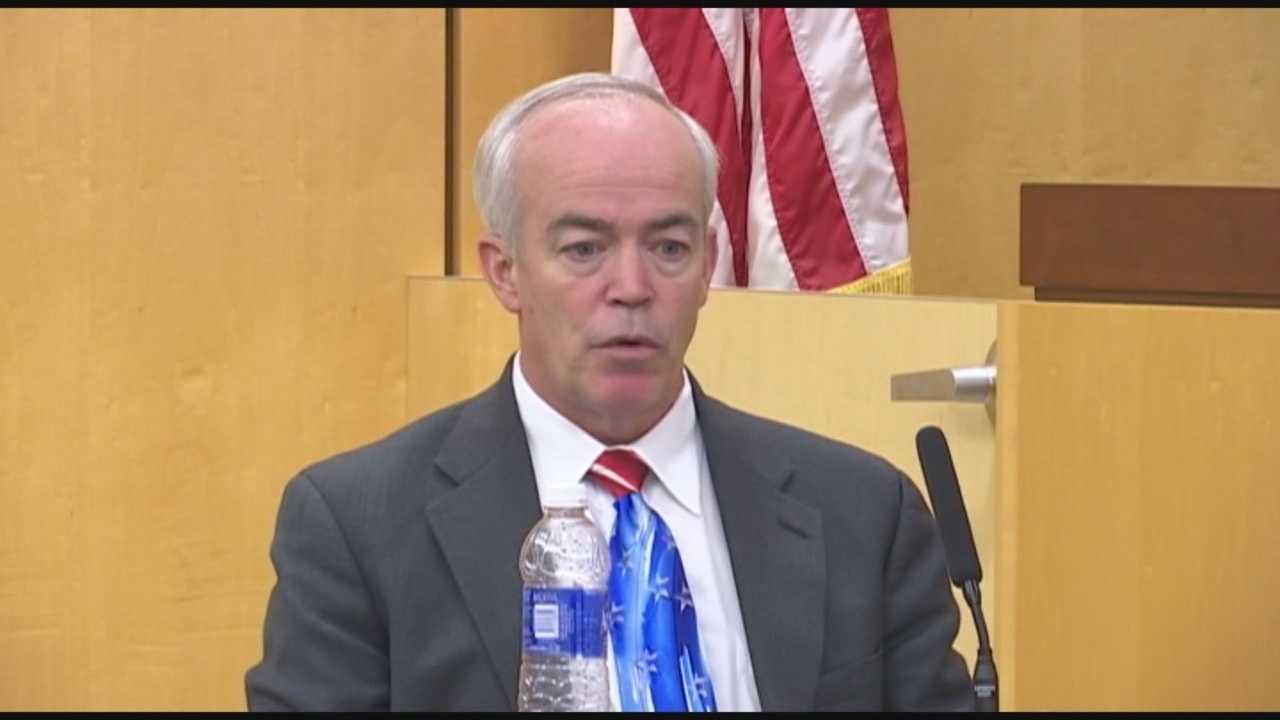 A Brevard County judge's career is on the line as he tries to explain why he got into a profane, verbal fight with an attorney in his courtroom, before it turned into a physical fight.