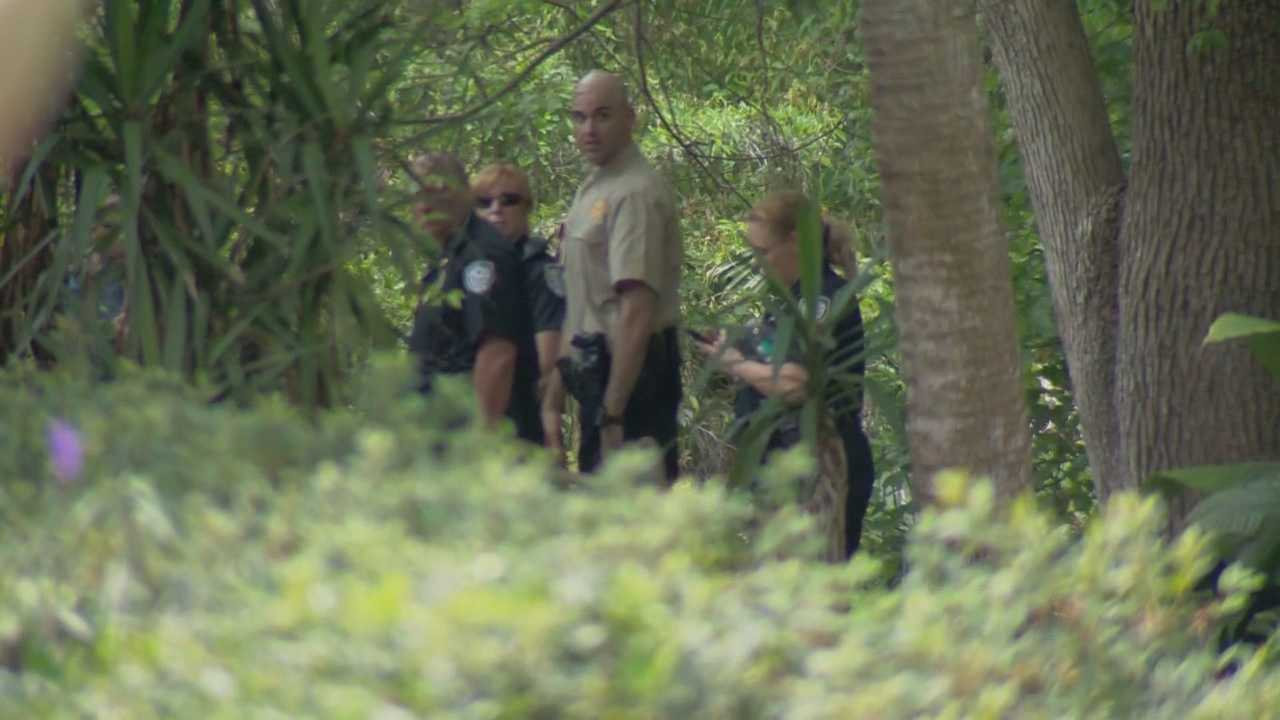 A woman's body was found in a creek on Friday afternoon, according to the Winter Park Police Department.
