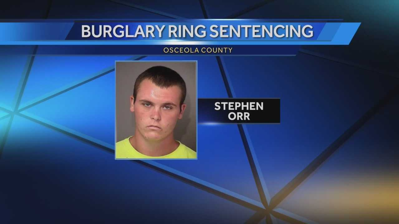 A Davenport man who was convicted in a case of serial burglaries faces sentencing Friday.