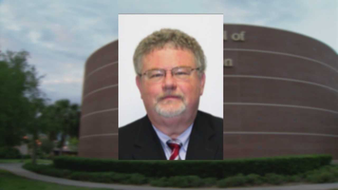 The director of the communication school at the University of Central Florida resigns amid allegations that he mishandled university funds and hired family members, both of which are against university policies. Chris Hush (@ChrisHushWESH) has the latest.