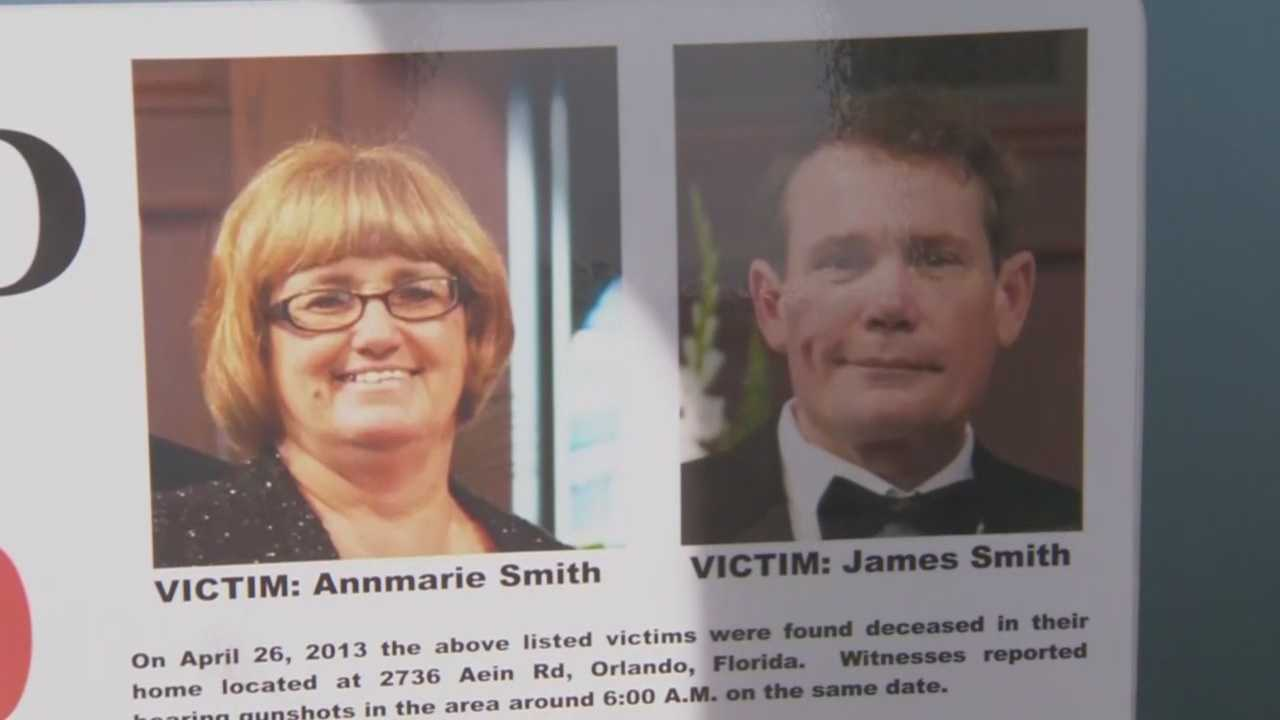 Loved ones gathered in Orlando to remember Ann Marie and James Smith two years after they died.