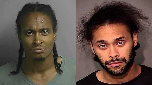 Jason Simmons (left) and Santiago Jonanthony (right)