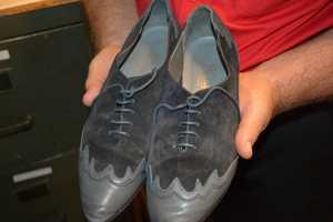 Original Blue Suede Shoes