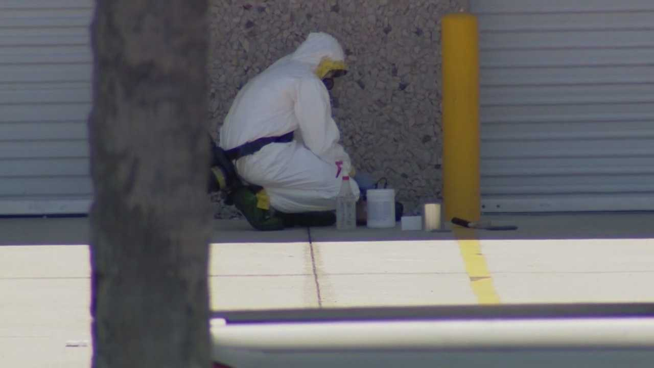 A suspicious package prompted the evacuation Thursday of a building at Orlando  International Airport, according to the Greater Orlando Aviation Authority.