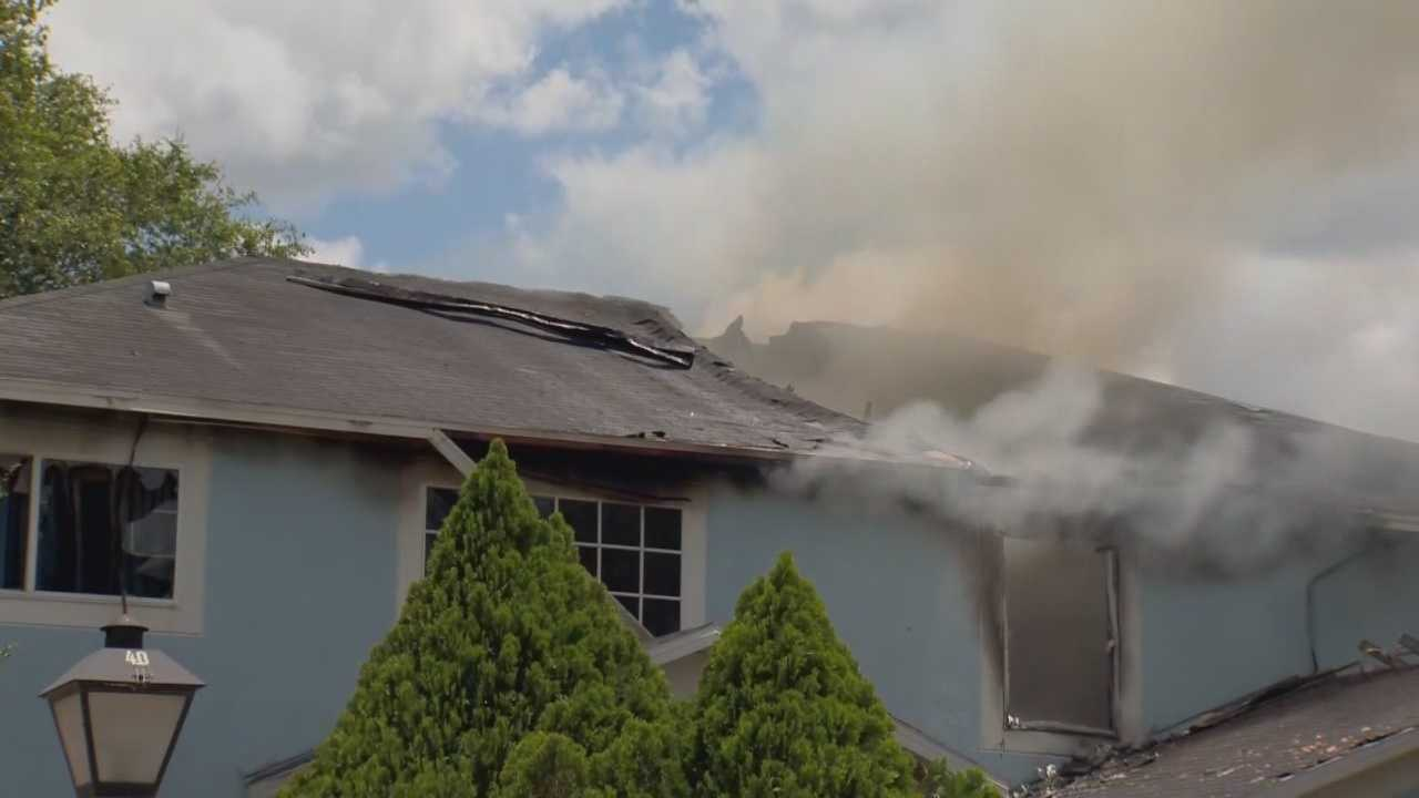 Fire destroyed home in Apopka