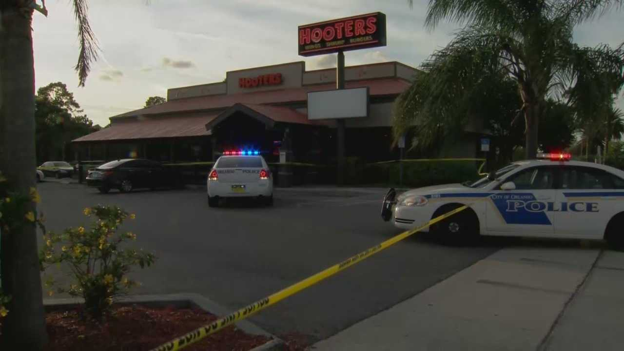 A 16-year-old boy was shot Monday near a Hooters restaurant in Orlando, according to the Orlando Police Department. Adrian Whitsett(@AdrianWhitsett) has the latest.