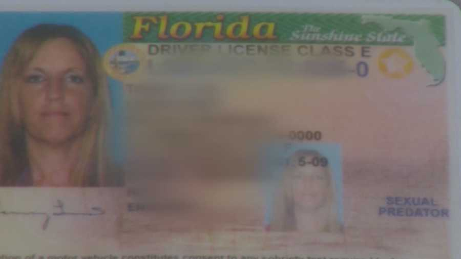 Woman Says She Was Labeled Sex Predator On Her License-1039