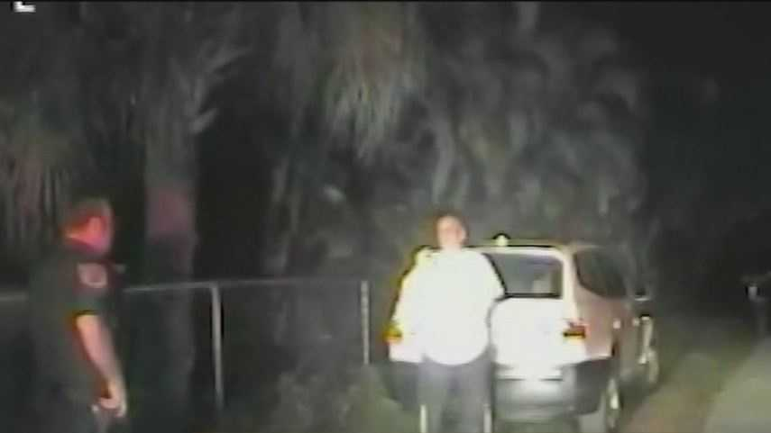 Angel Soto says dash cam video from February traffic stop shows deputies going too far.