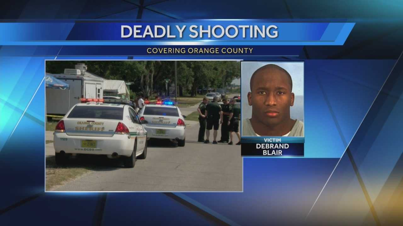 Man shot and killed near food truck