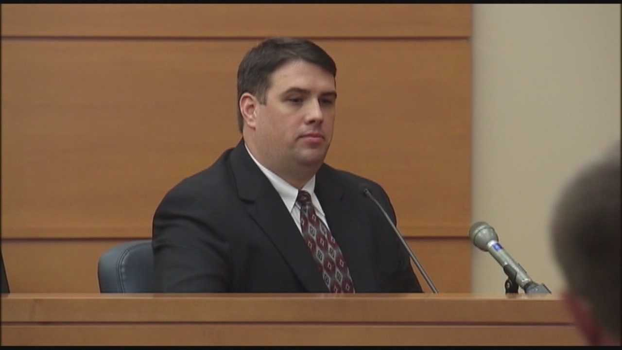 A former Lake County Sheriff's Office deputy accused of raping a woman took the stand in his own defense Wednesday.