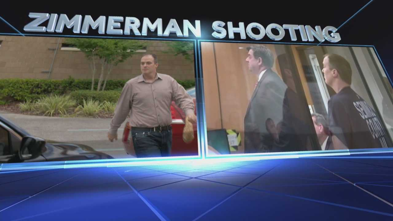 Man accused of shooting at George Zimmerman has bonded out of jail today.