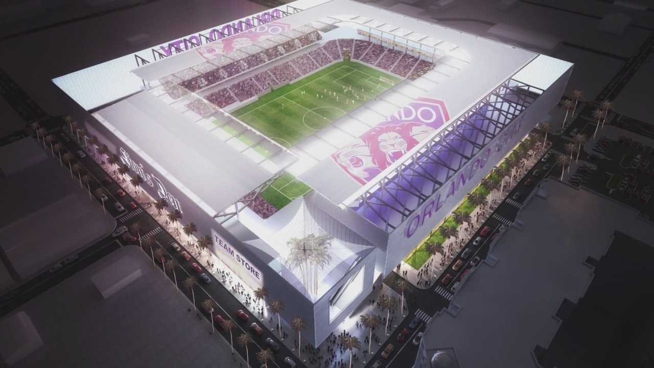 Matt Grant reports on the fan's excitement after Orlando City made a big stadium announcement.