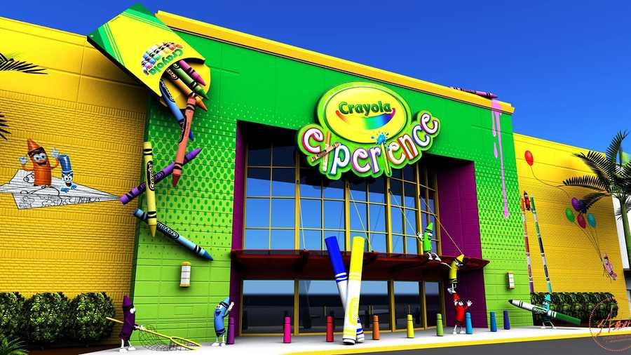 Crayola Experience Orlando opens Wednesday at the Florida Mall