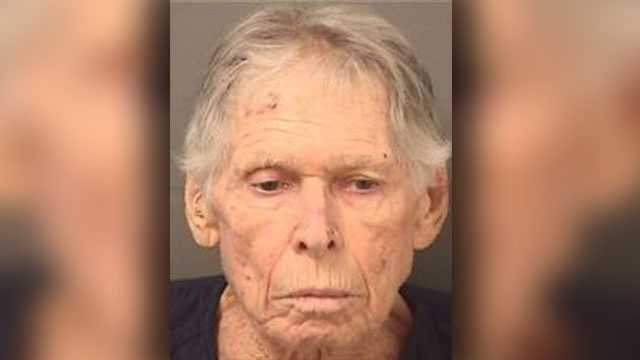 HB Shea, 90,faces charges of aggravated assault with a firearm.