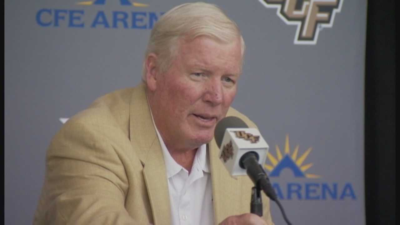 UCF has named George O'Leary the interim athletic director through the end of 2015. Amanda Ober (@AmandaOberWESH) has the story.