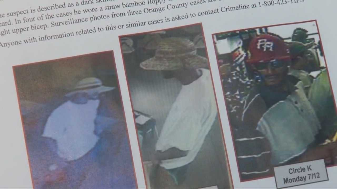 Orange County sheriff's deputies need your help to track down a serial robber.