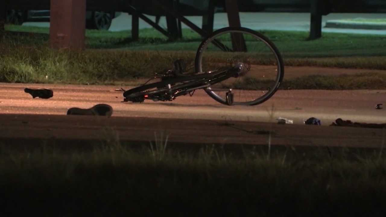 A bicyclist is in critical condition after being run down by an Orlando police officer's squad car. Bob Kealing (@bobkealingwesh) has the story.It happened just before one Saturday morning, on Kirkman road, near Vineland Road.Tonight we're finding out more about what happened.
