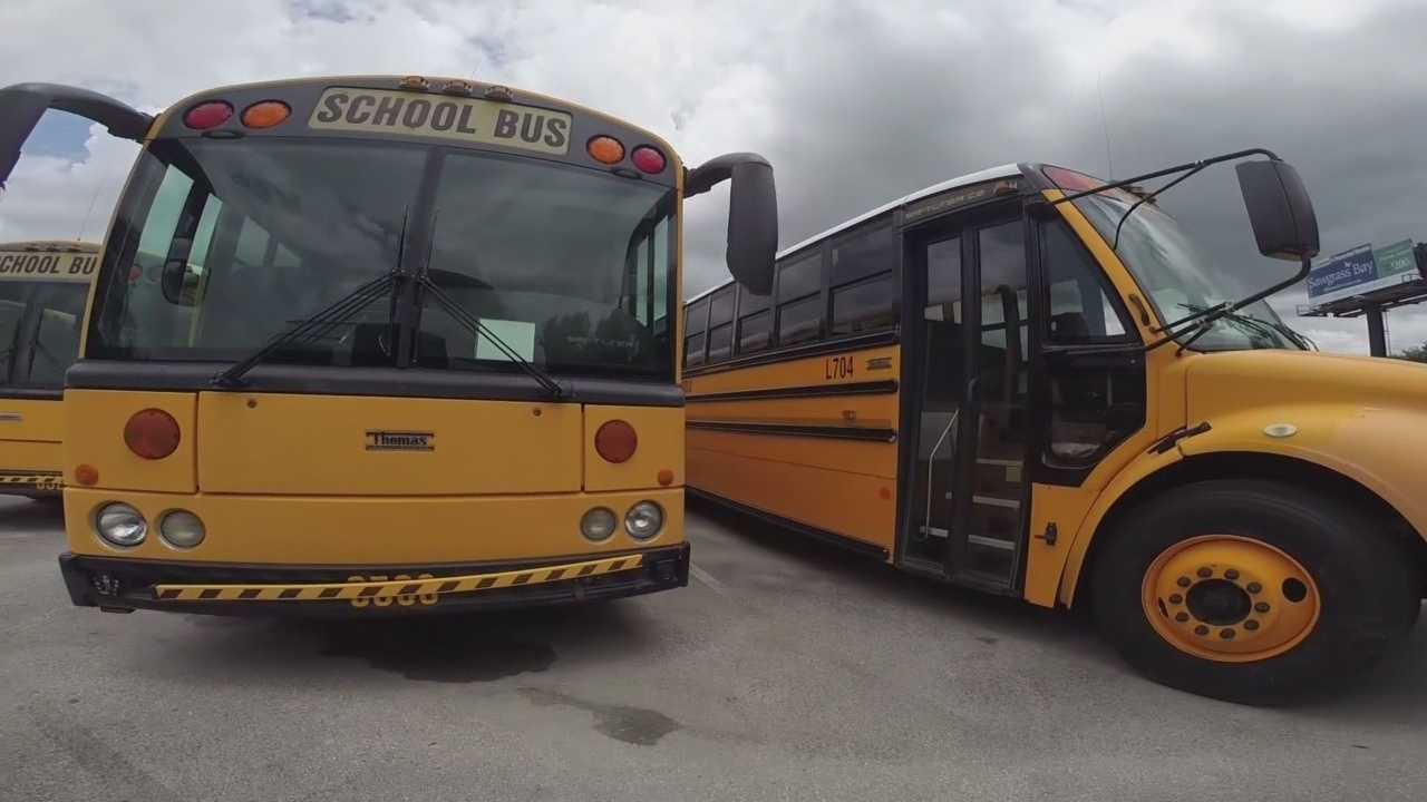 Florida state law says that any student who lives two or more miles away from school will have transportation made available to them. Schools in Lake County took steps to help even more students this week. Gail Paschall-Brown (@gpbwesh) has the story.