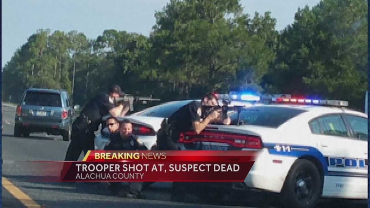 Suspect dies from gunshot wound