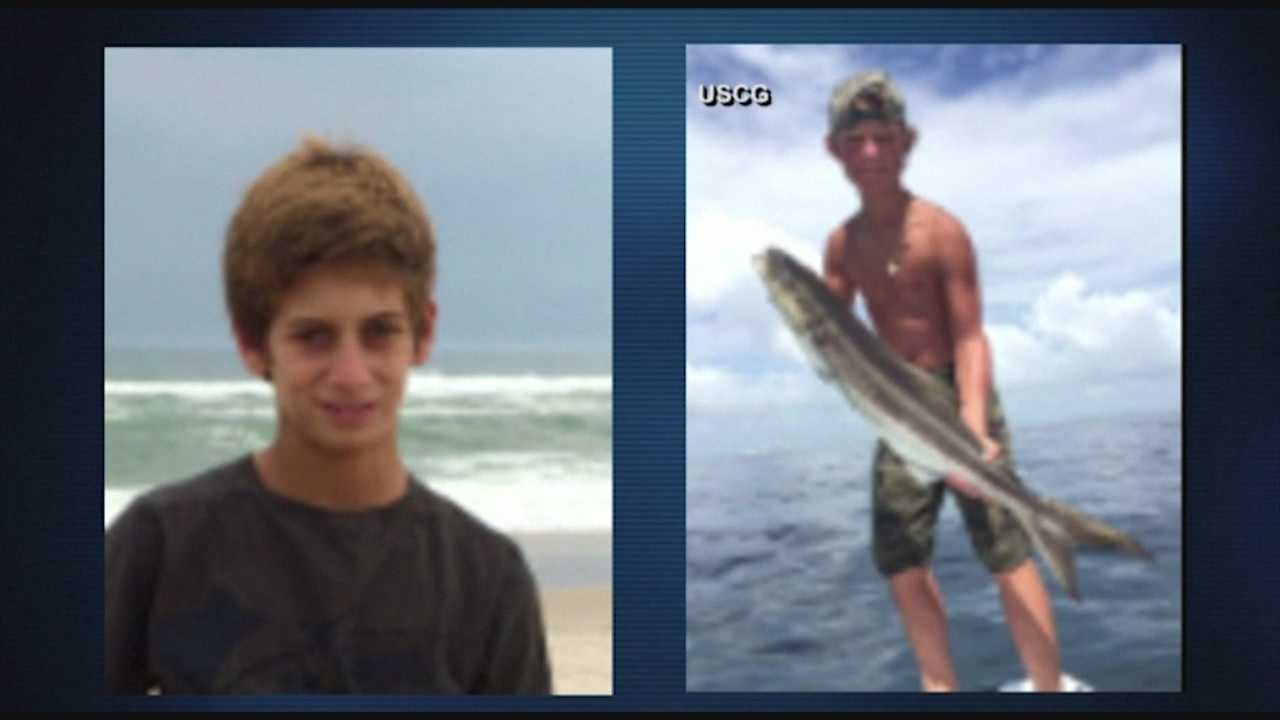 The families of two missing teen boaters say their boat has been found overturned off the Florida coast.