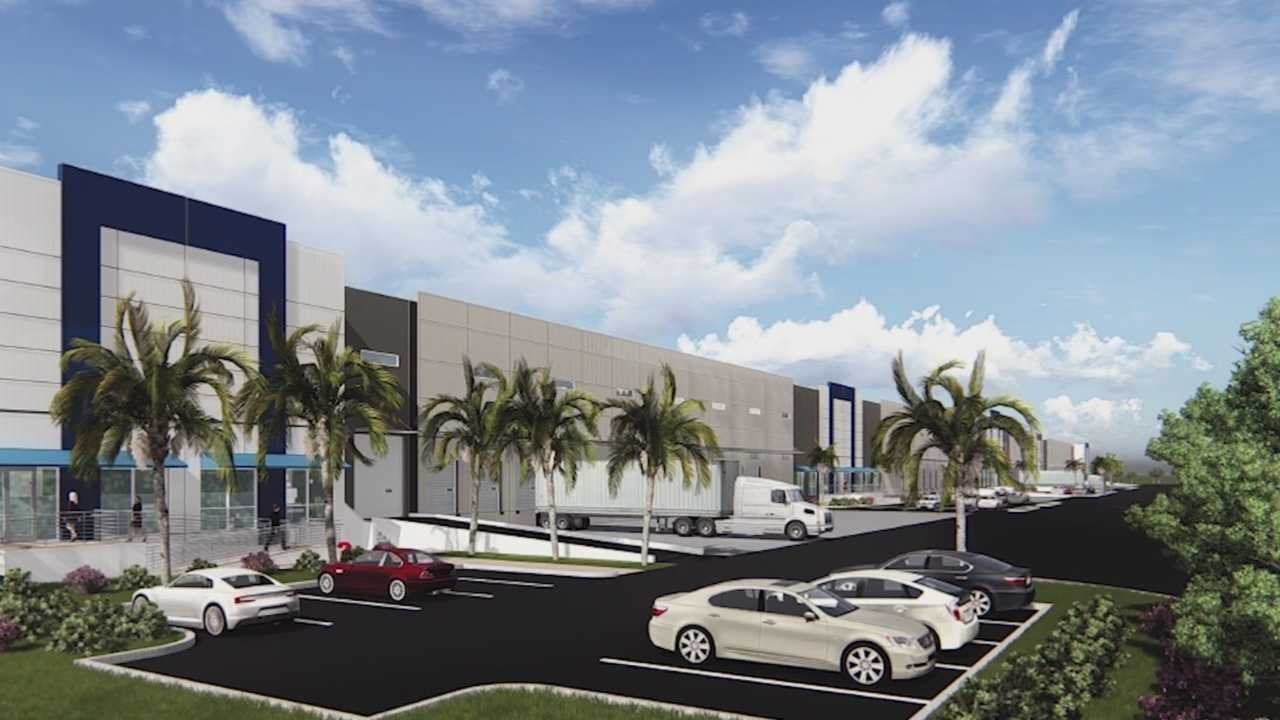 A new cargo warehouse in Titusville will help expand Port Canaveral's cargo industry and offer five-thousand new jobs. Dan Billow (@DanBillowWESH) has the story.