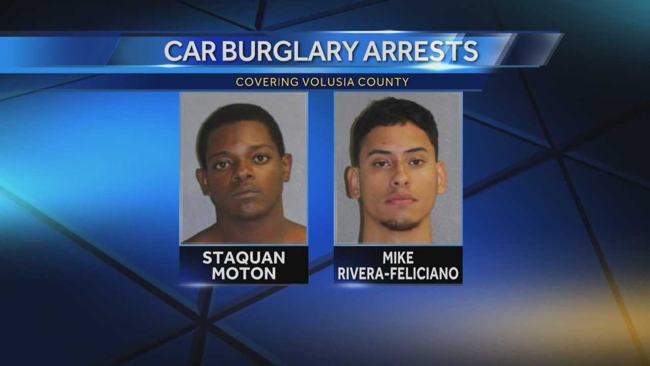 Three teens are arrested in Deltona in a rash of car break-ins. Greg Fox (@GregFoxWESH) has the story.