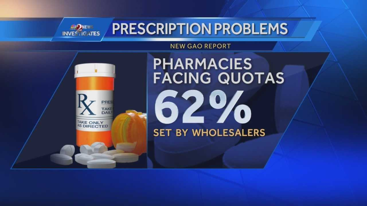 It's the second time this year that a Government Accountability Office report has been critical of the way the DEA works with pharmacies and wholesalers. Matt Grant (@MattGrantWESH) has the story.