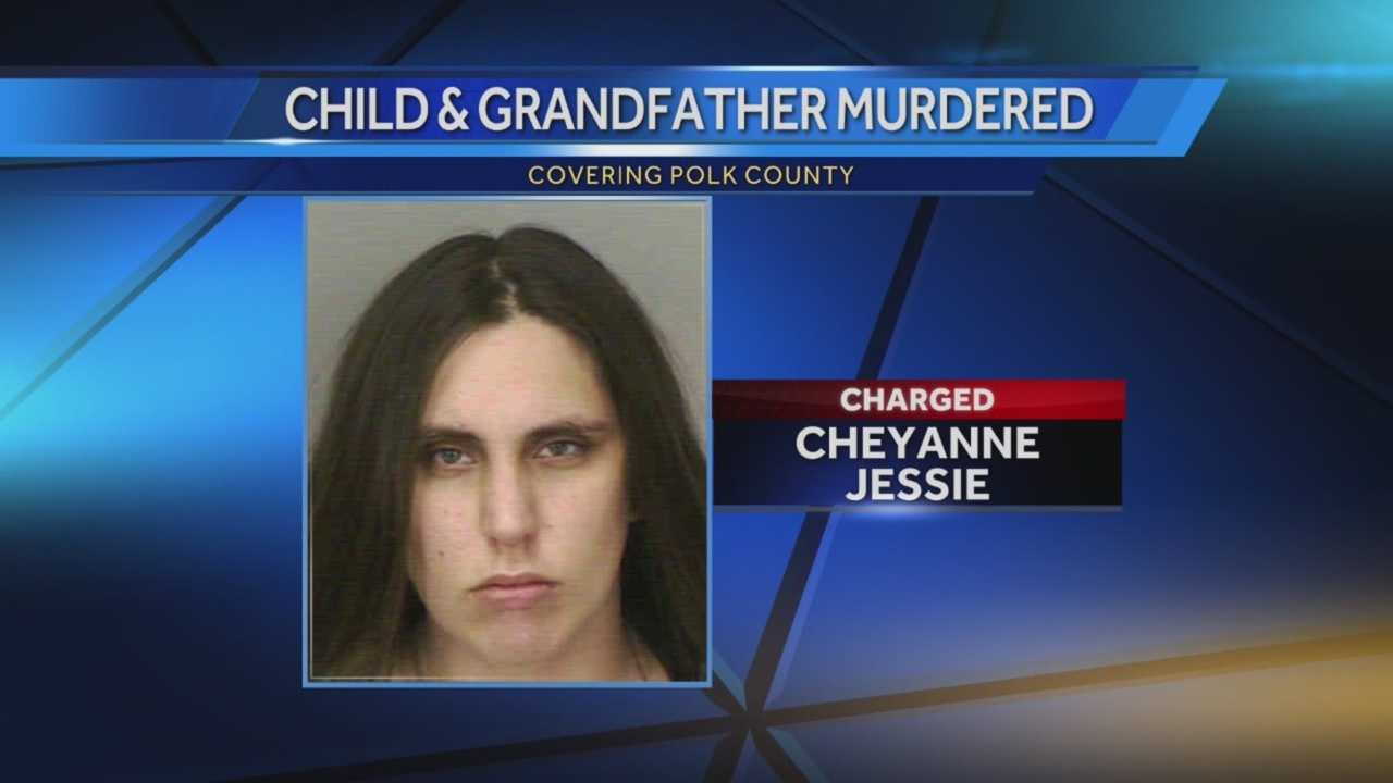 A Lakeland child and her grandfather were found murdered, the child's mother had been charged in the case.