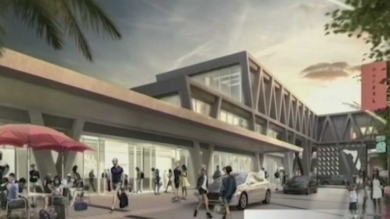 A private company seeking to build rail service between Orlando and Miami is asking a state-authorized bond-financing board to allow it to issue $1.75 billion in tax-exempt bonds. Greg Fox (@GregFoxWESH) has the story.