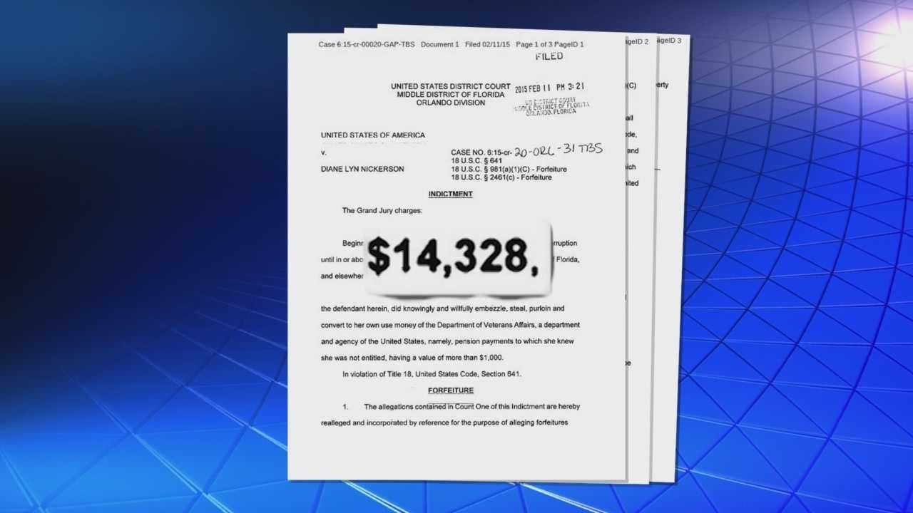 A Brevard County woman who admitted to keeping thousands of tax dollars intended for a veteran who had been dead for more than a year learned her fate Friday in federal court. Bob Kealing (@bobkealingwesh) has the story.