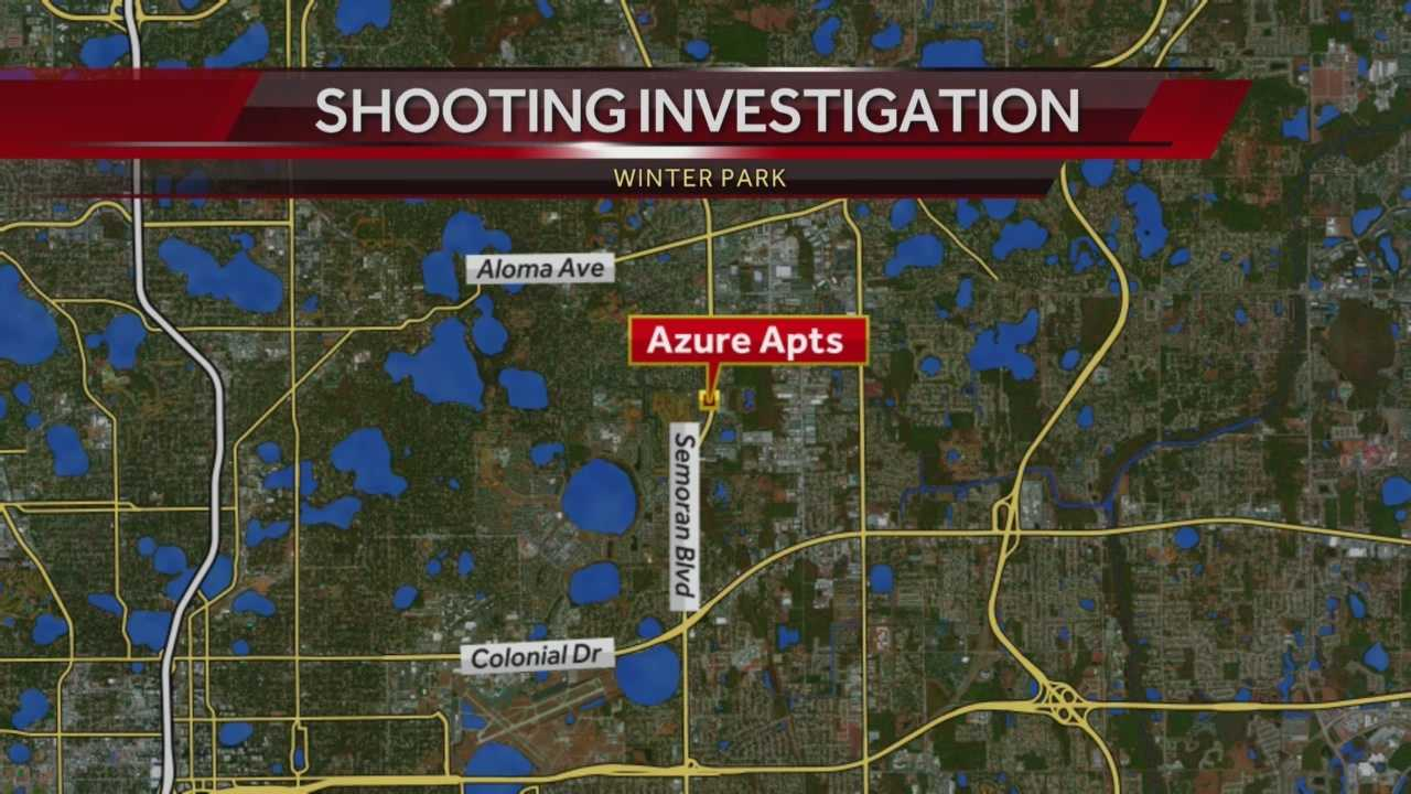 Officials say a man is in grave condition after he was found shot in a Winter Park apartment complex. Matt Grant (@MattGrantWESH) has the story.